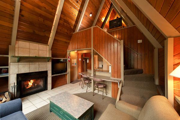 2 Bedroom A Frame Chalet Douglas Fir Resort Amp Chalets Banff Canada